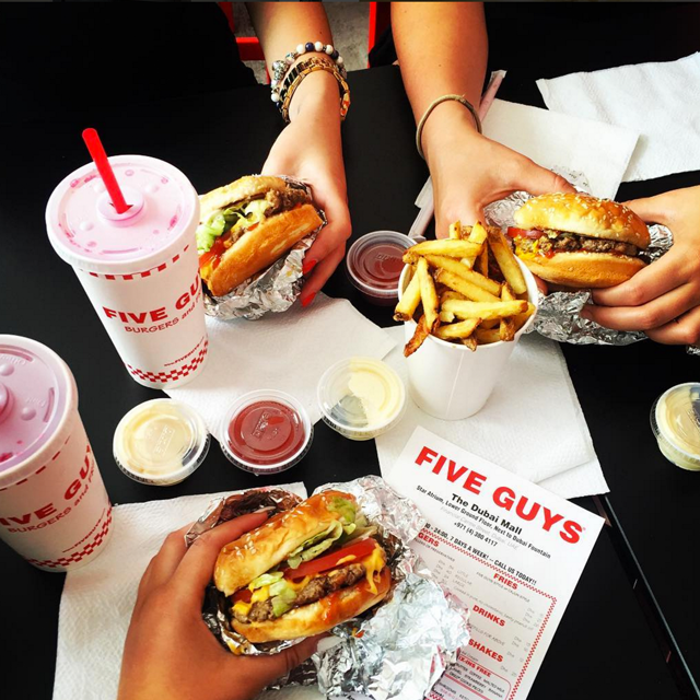 Five Guys Fanatics grid image 3